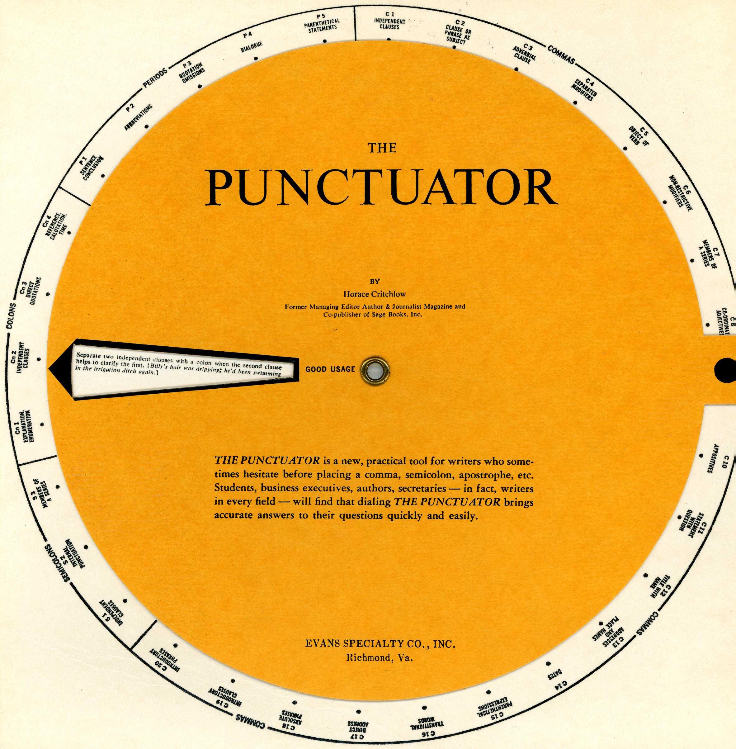 punctuator volvelle wheel chart slide chart 01 calculating