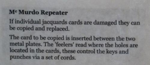 Jacquard Loom Card Duplicator  2xx