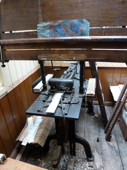 Paradise Mill Jacquard Loom 26