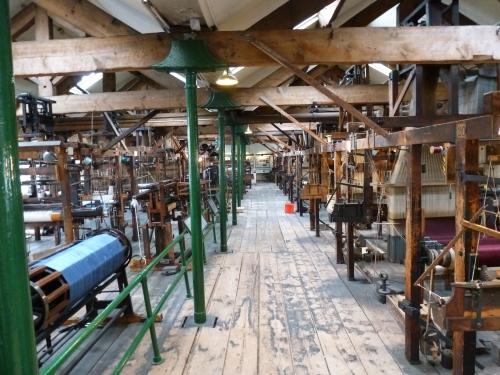 Paradise Mill Jacquard Looms 07