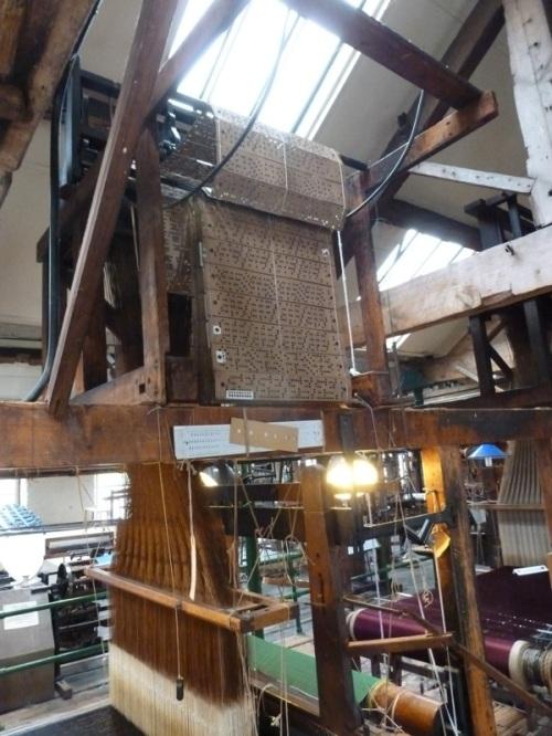 Paradise Mill Jacquard Looms 08