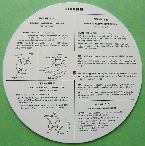 RAND Bombing Probability Computer 3