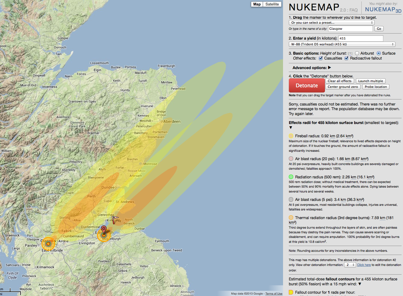 ... : 28 Gigaton Equivalent | NUKEMAP by… | Flickr - Photo Sharing