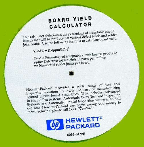HP Board Yield Calculator 2