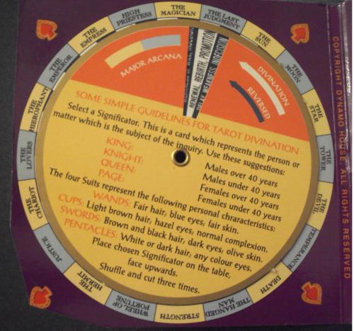 volvelle wheel chart slide chart 527
