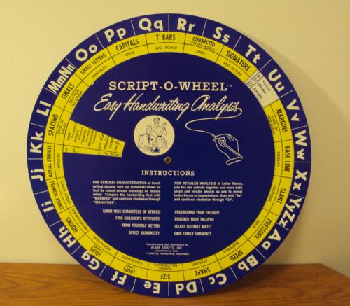 Volvelle wheel chart slide chart 573