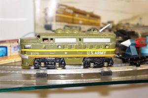 Bandai Atomic Train tin 1950s 1