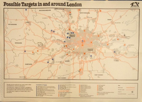 London Targets Map  1