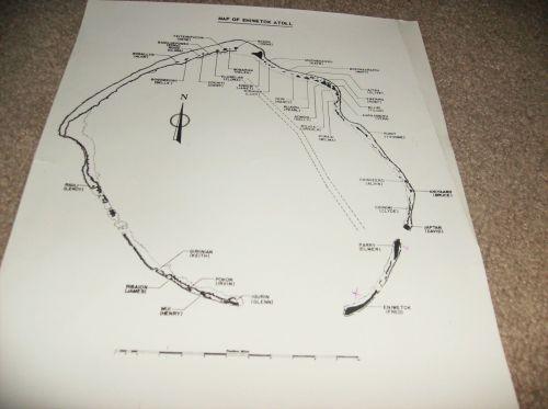 MAPs OF BIKINI & ENIWETOK ATOLLs test sites 2