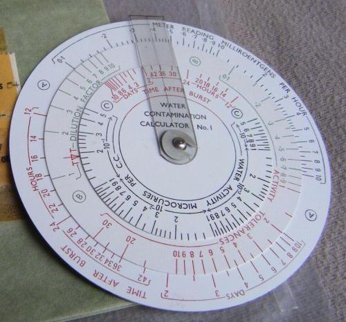 Water contamination calculator 1